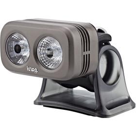 Knog Blinder Road 250 Lampe frontale LED blanche, pewter